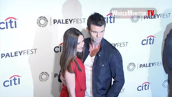 Daniel Gillies and Rachael Leigh Cook arrive at PaleyFest 2014 'The Originals' Redcarpet
