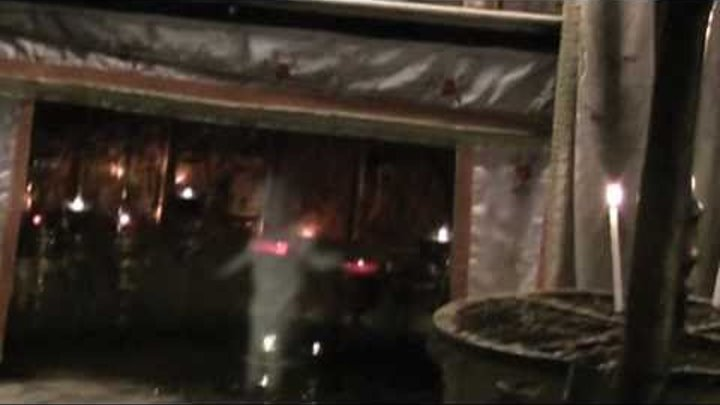 Real Ghost Caught on tape - Ancient Grotto - Bethlehem December 25, 2010