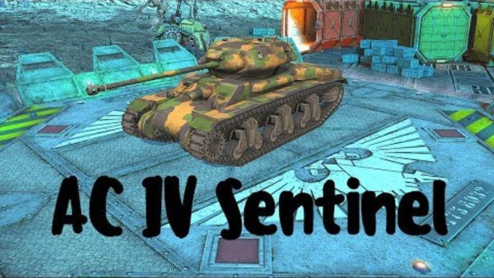 AC IV Sentinel (прем танк 6 уровня). World of Tanks Blitz. Летсплей