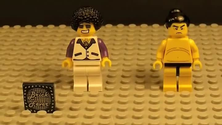 Epic Lego Minifigures Battles - Features Series 2 and 3, Stop Motion Animation