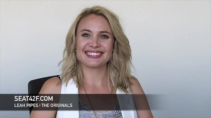 Leah Pipes Interview The Originals