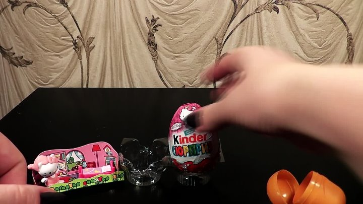 Unboxing Surprise eggs Киндер Сюрприз Хелло Китти, Kinder Surprise Hello kitty 2015