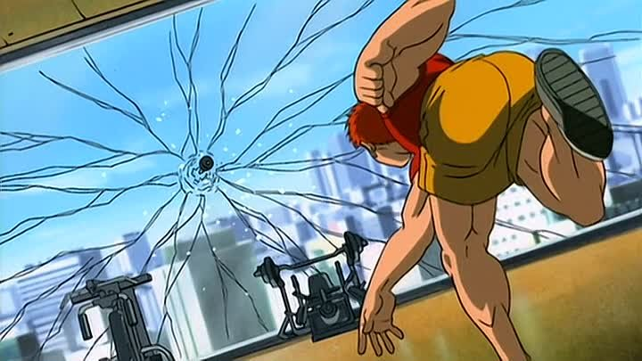 Боец Баки (Baki the Grappler) 1 серия (2001) ТВ-1 [2x2][AnimeDub.ru]