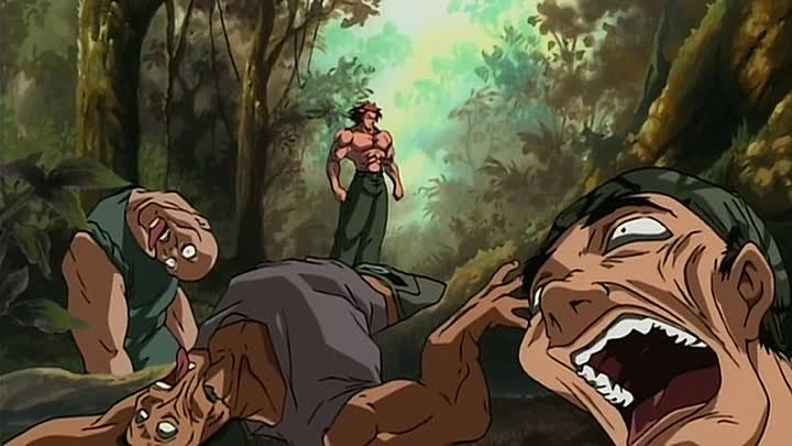 Боец Баки (Baki the Grappler) 24 серия (2002) ТВ-2 [2x2][AnimeDub.ru]