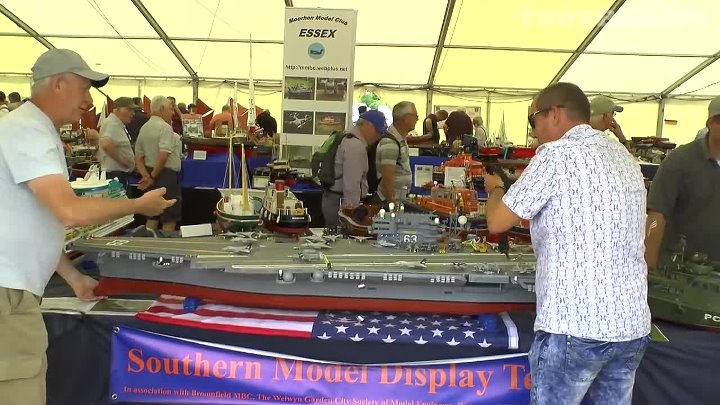 SCALE DETAILED RC BOATS & SHIPS AT WINGS & WHEELS SPECTACULAR # 2 - 2017