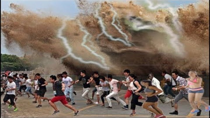 There Is No Way To Run Scariest Moments Ever Natural Disasters