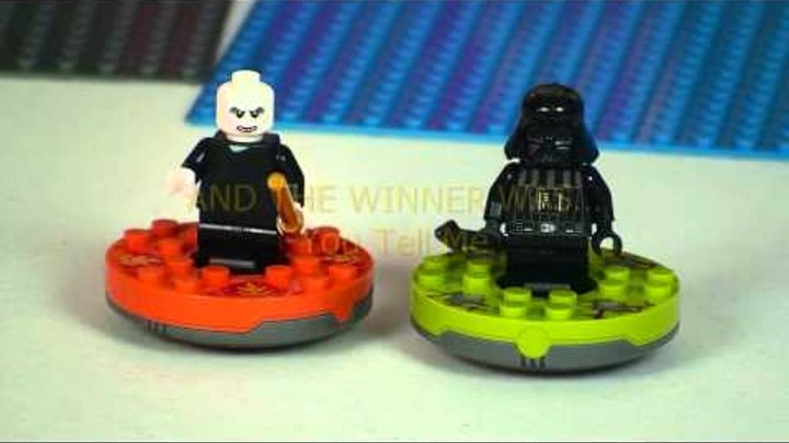 LEGO NINJAGO FIGHT NIGHT Prizefight Parody: Vader vs Voldemort