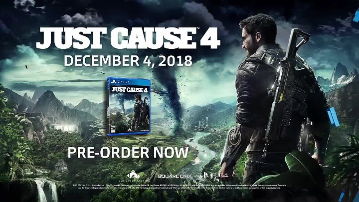 Just Cause 4 – E3 2018 Announce Trailer - PS4