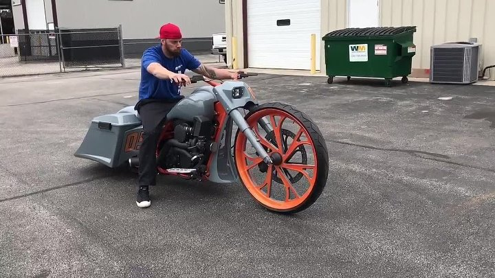 For Sale GT3 RS Turbo Test Ride F Bomb Baggers Custom Bagger w CRAZY SOUNDS