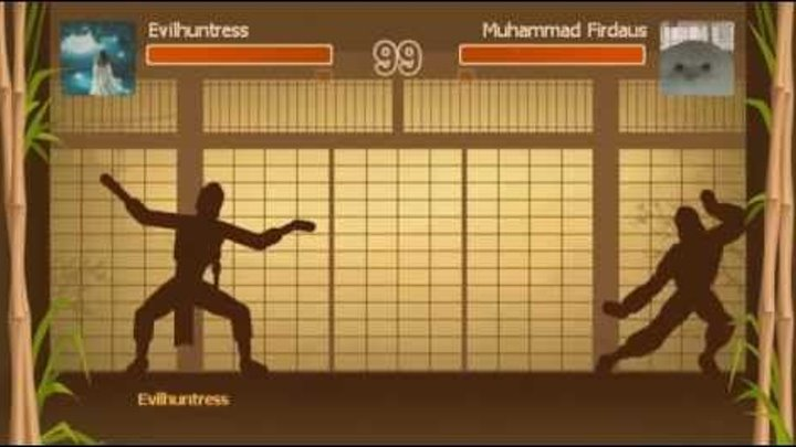 shadow fight - pass dan 10 by don't use weapon (expert style)