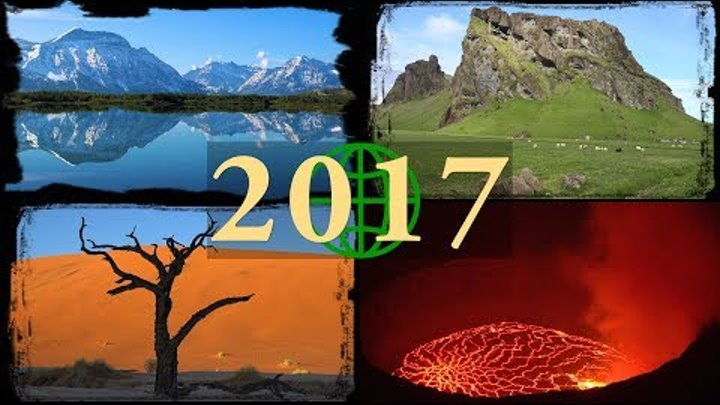 2017 Rewind: Amazing Places on Our Planet in 4K Ultra HD (2017 Year in Review)