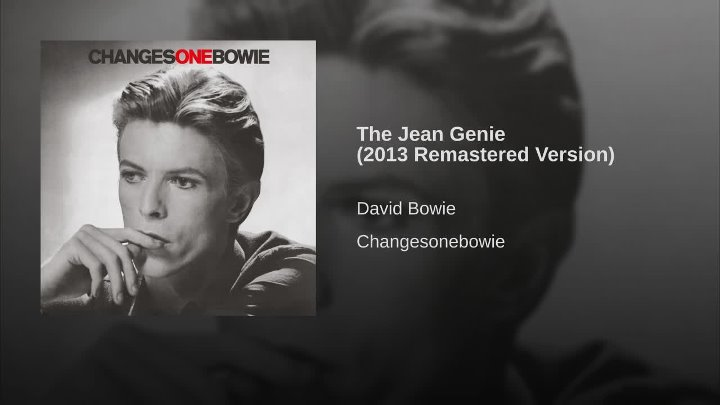 The Jean Genie From ChangesOneBowie album