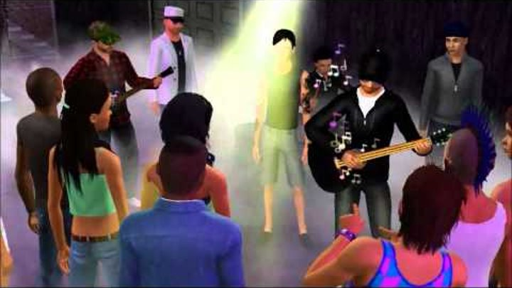 Hollywood Undead- Everywhere I Go Music Video (Sims 3 Version)