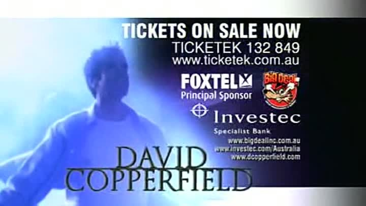 David Copperfield 30 Sec Promo MAY 2009