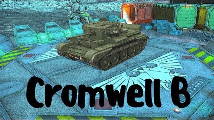 Cromwell B (прем танк 6 уровня). World of Tanks Blitz. Летсплей