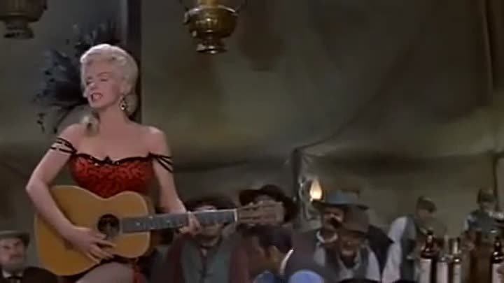 Marilyn Monroe - One Silver Dollar - (River of No Return, 1954)