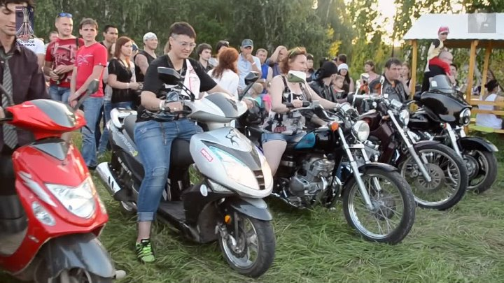 Open air Bike fest. город Костанай 30 мая 2015.