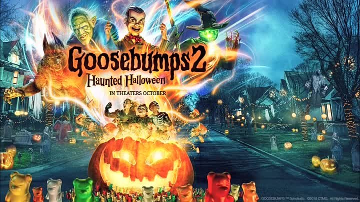Goosebumps 2 Haunted Halloween (2018) O...railer HD