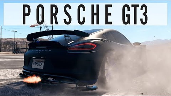 Need for Speed Payback [TÜRKÇE] : Story Part 18 Porsche GT3
