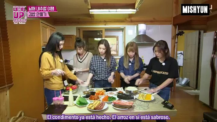 [SUB ESP] Red Velvet - Level Up! Project S2 Ep. 13