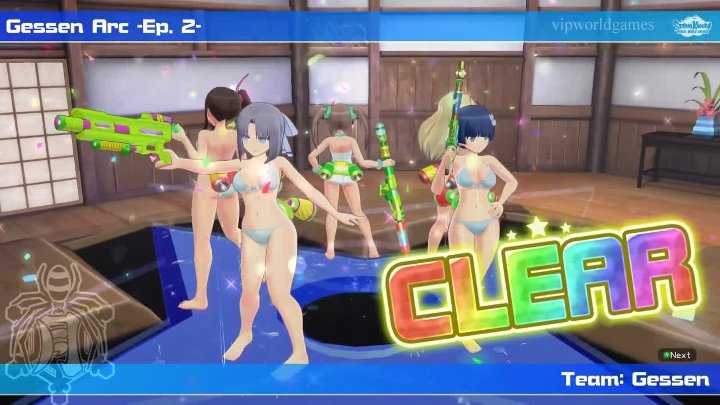 Прохождения Senran Kagura: Peach Beach Splash - Серия 2