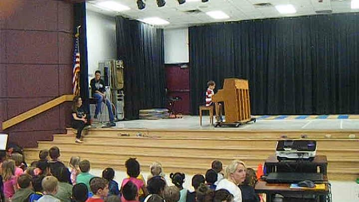 Simon on talent show at school June 3 2015 001