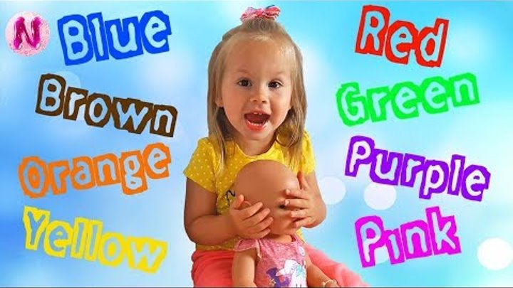 Learn Colors Baby Video Compilation, Fun Way to Learn Colours for Kids