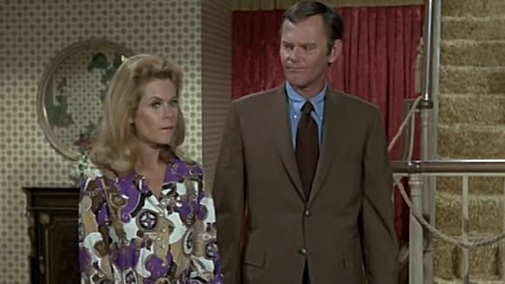 Bewitched s07e02. *Salem, Here We Come, Elizabeth Montgomery, Dick Sargent, Agnes Moorehead, Cesar Romero, Erin Murphy,Director: William Asher, Cinematography by Robert Tobey, Episode aired 1 October 1970