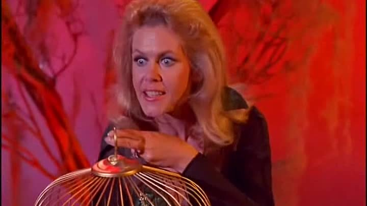 Bewitched s07e07. Samantha's Bad Day in Salem , Elizabeth Montgomery, Dick Sargent, Agnes Moorehead, Anne Seymour, Hal England, Director: William Asher, Cinematography by Robert Tobey, Episode aired 5 November 1970