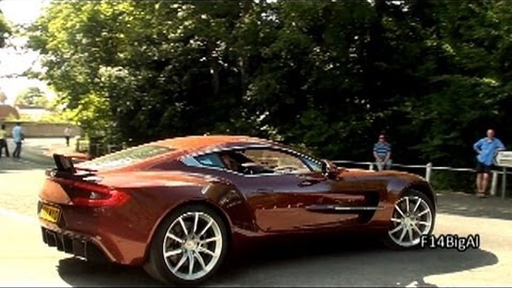 Aston Martin One-77 HARD REVS SOUND