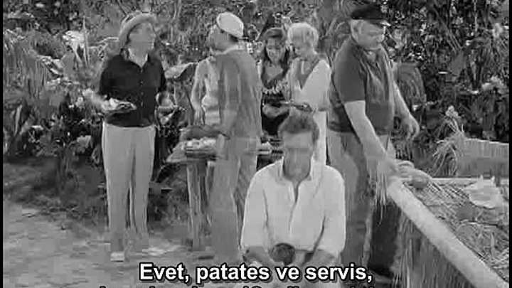 Gilligan's Island 1.Sezon 13.Bölüm Türkçe Altyazılı Three Million Dollars More or Less_arc