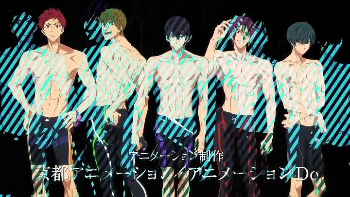Free!-Dive to the Future- тизер.