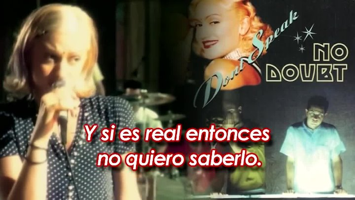 No Doubt - Don't Speak (1995) HD