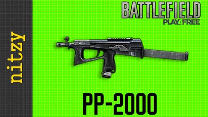 PP-2000 - Battlefield Play4Free Weapon Guide (RUS)