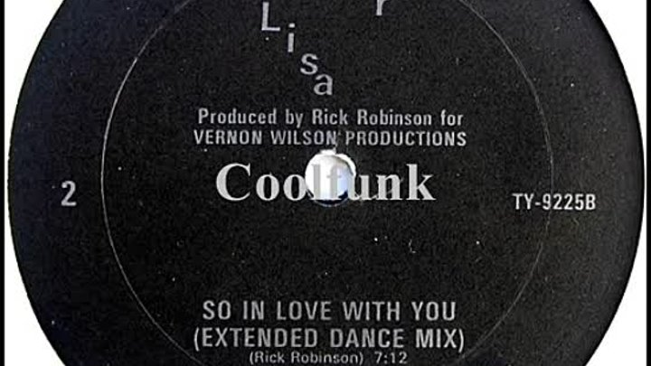 Lisa - So In Love With You (12 Extended Dance Mix 1986)