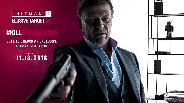 Hitman 2 – Sean Bean Elusive Target #1 Reveal ¦ PS4