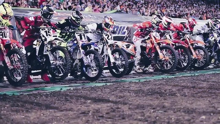 CHAD REED x BOOST MOBILE - 2018 SUPERCROSS - TAMPA—228 CAREER STARTS