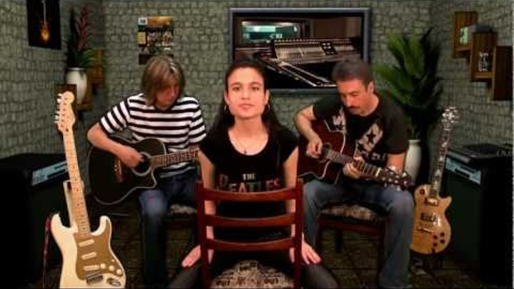 The Beatles / The Long and Winding Road / Acoustic Cover / Anastasia Kochorva