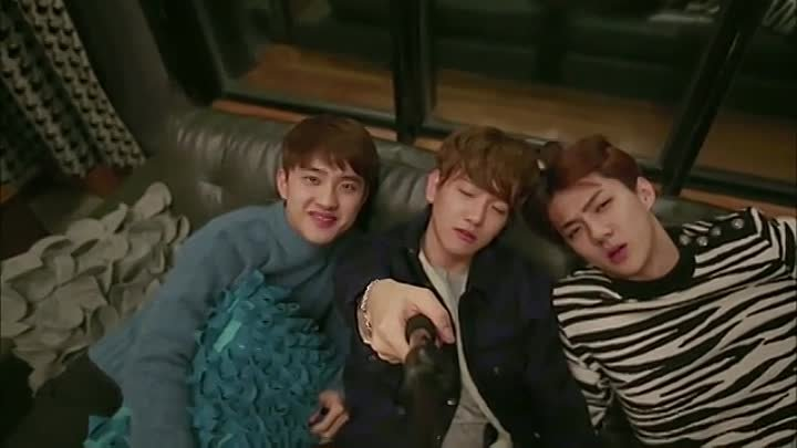EXO по соседству _ EXO Next Door [02_16] GREEN TEA