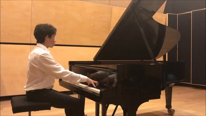 Chopin - Etude Op.25 No.1 Performed By Ben Yakoubov