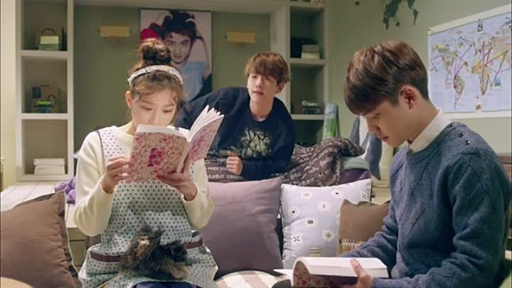 EXO по соседству _ EXO Next Door [08_16] GREEN TEA