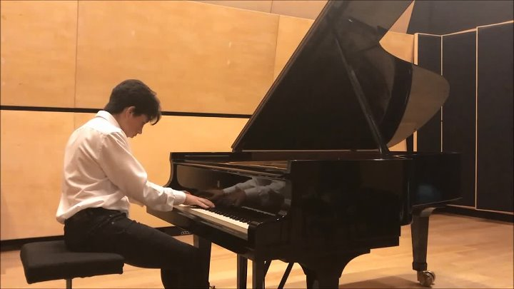 Chopin - Impromptu Fantaisie Op.66 performed By Ben Yakoubov