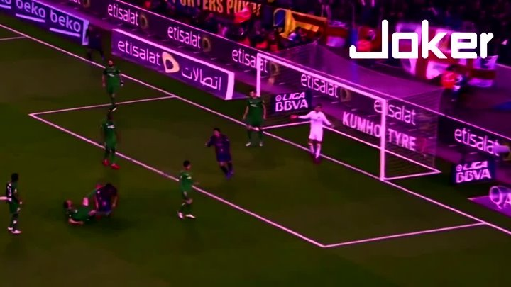 Luis Suarez Amazing Bicycle Kick Goal vs Levante(Vine)