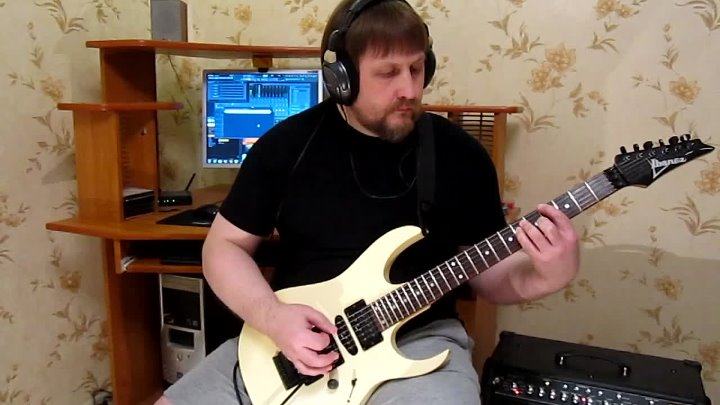 SHRED METAL GUITAR SOLO ( ПОЛНАЯ ВЕРСИЯ НА YOUTUBE )