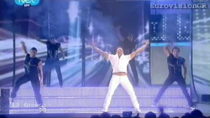 EUROVISION 2009 GREECE SAKIS ROUVAS THIS IS OUR NIGHT -HQ STEREO