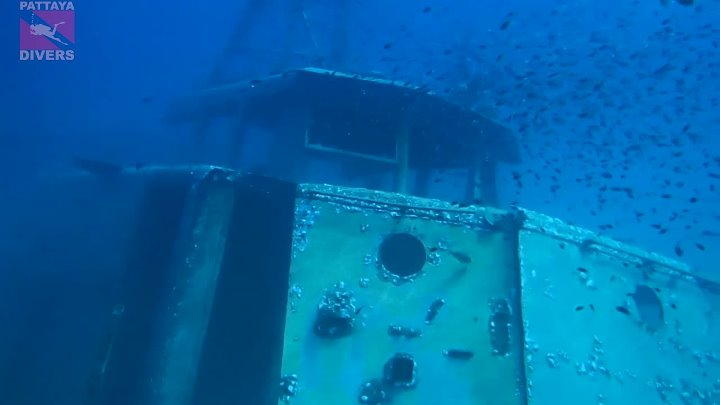 """""""T-11"""" Wreck in 2015   Diving Koh Chang, Thailand"""