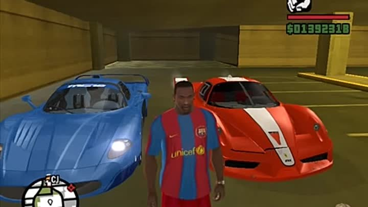 GTA SAN ANDREAS - TIERRY HENRY