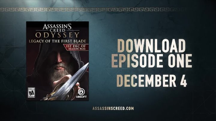 Assassin's Creed Odyssey - Legacy of the First Blade DLC Launch Trailer ¦ PS4