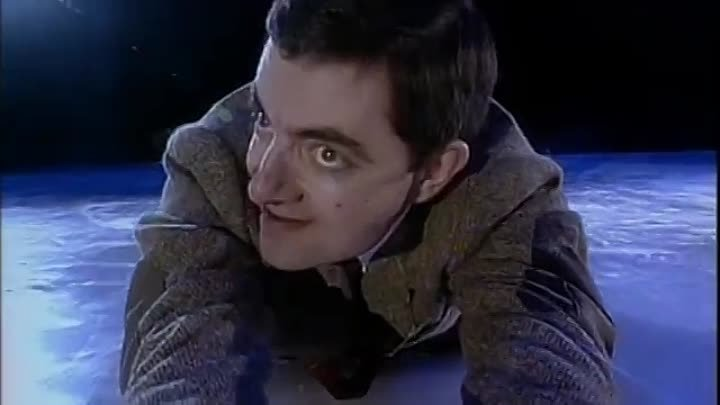 Mr Bean in 'Torvill and Bean' _ Comic Relief