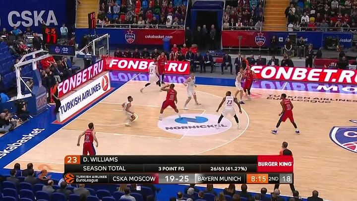 CSKA Moscow - FC Bayern Munich Highlights _ Turkish Airlines EuroLeague RS Round